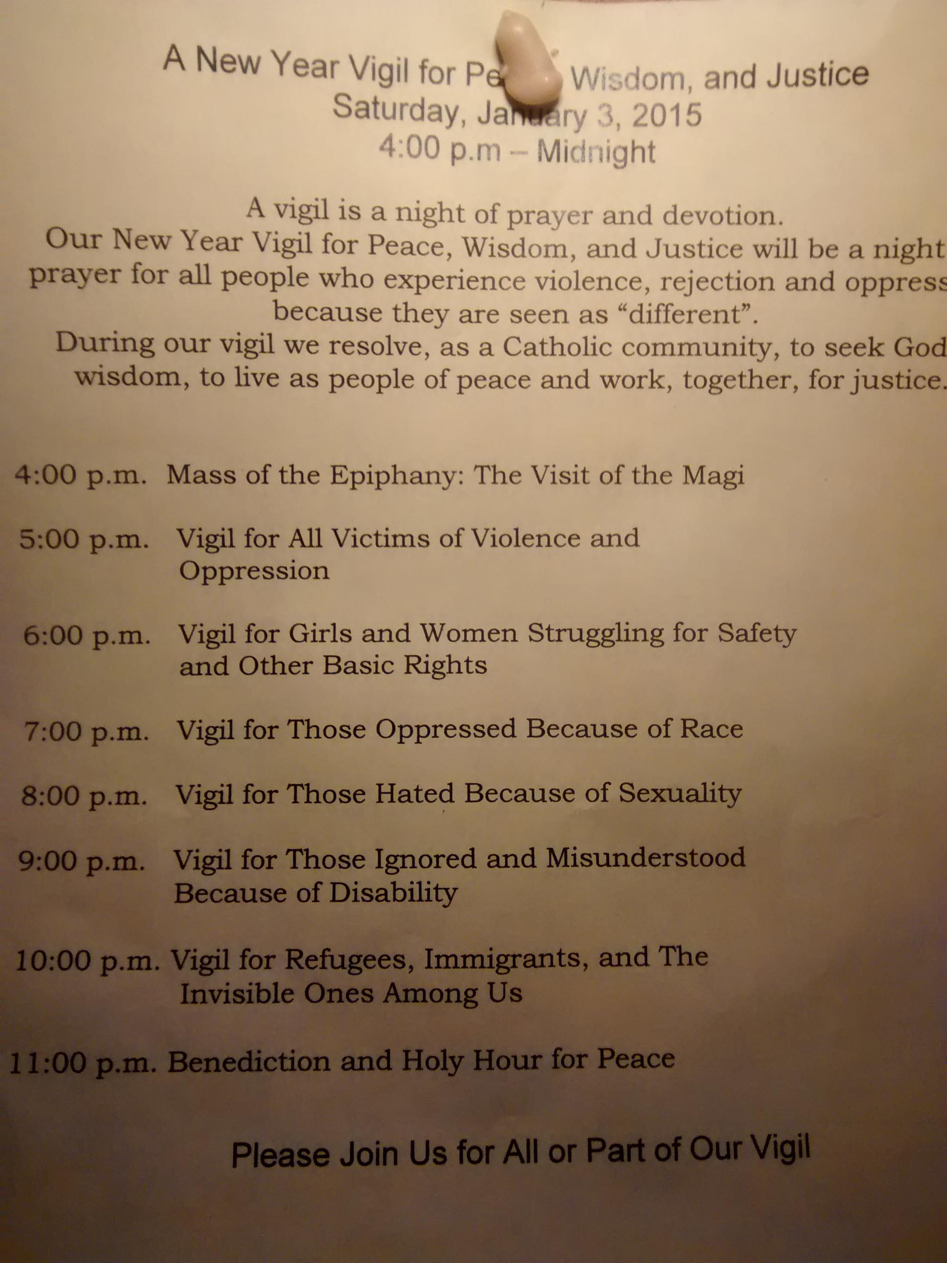 Boston Church politicizing New Year\'s vigil with secular agenda ...