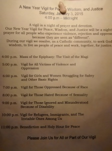 Foxboro Vigil